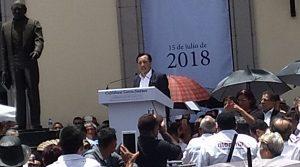 Transición de gobierno en Veracruz se llevará en paz: Cuitláhuac García