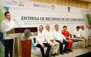 Entrego Alejandro Moreno Cárdenas 20.8 millones de pesos a 175 emprendedores campechanos