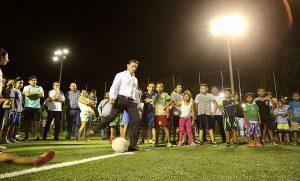 Supervisa Remberto Estrada Yaakun Cancún para una ciudad con más luz