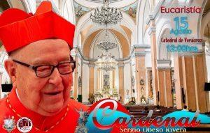 El Cardenal Sergio Obeso celebrará misa en Veracruz