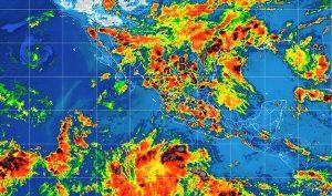 Se prevé lluvias fuertes, viento fuerte, actividad eléctrica y granizadas en gran parte de México