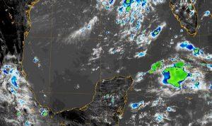 Se pronostican condiciones muy calurosas y lluvias por las tardes en la península de Yucatán
