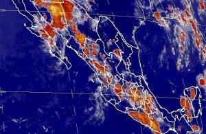 Tormentas muy fuertes se prevén en nueve estados de México