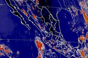 Se prevén tormentas muy fuertes para esta noche en Sinaloa, Jalisco, Puebla, Oaxaca, Tabasco y Chiapas