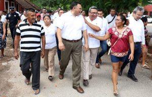 Confianza ciudadana permite cumplir compromisos en Yucatán: Rolando Zapata Bello