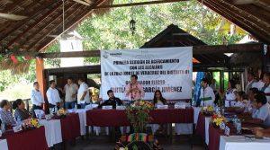 Se reúne Cuitláhuac García con alcaldes de zona norte de Veracruz; hablan sobre infraestructura