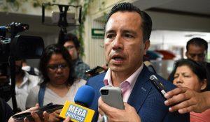 No habrá en el gabinete funcionarios ligados a Yunes y Duarte: Cuitláhuac García