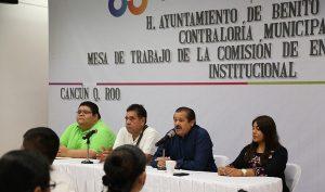 Culminan mesas de trabajo entrega-recepción institucional Ayuntamiento de BJ