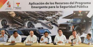 Empréstito para seguridad en Tabasco, se aplica con transparencia