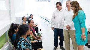 Entra en funcionamiento el nuevo Hospital Materno Infantil en Yucatán