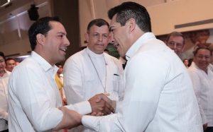 Yucatán y Campeche, juntos lograran los cambios necesarios para todos: Mauricio Vila Dosal