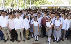 Núñez: respaldo irrestricto a la educación de jóvenes