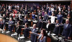 Nuevos Senadores y Diputados rinden protesta para la LXIV Legislatura
