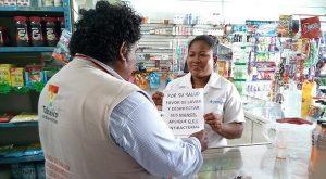 Realizan en establecimientos de Tabasco, fomento sanitario preventivo contra la influenza