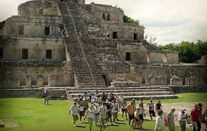 Turismo internacional visita Campeche