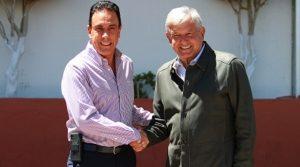 López Obrador se reúne con el gobernador de Hidalgo, Omar Fayad
