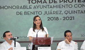 Cancún es uno solo y es tierra de todos: Mara Lezama