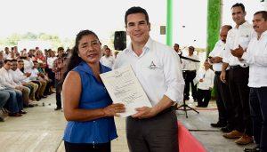 Pide Alejandro Moreno Cárdenas en Calakmul a campesinos apoyar proyecto del Tren Maya