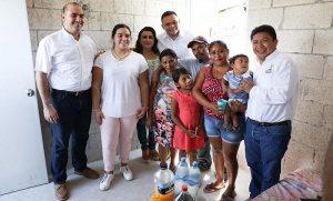 Certeza jurídica a más familias yucatecas