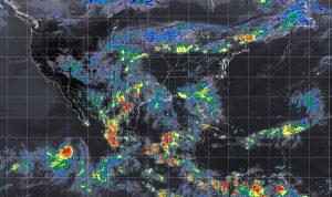 Se prevén tormentas intensas con actividad eléctrica y posible granizo en Oaxaca y Chiapas