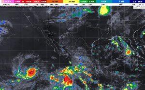 Se pronostican Tormentas muy fuertes para 12 entidades de México