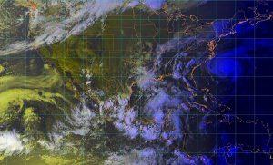 Se prevén tormentas intensas, vientos fuertes en 10 estados de México