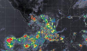 Se prevén lluvias muy fuertes en nueve entidades de México