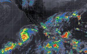 Tormentas intensas y vientos fuertes se prevén en Nayarit, Jalisco, Veracruz y Oaxaca