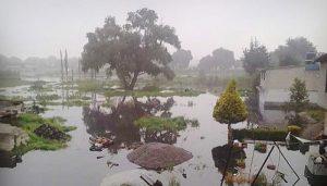 Se desborda el Rio Lerma, deja tres mil afectados