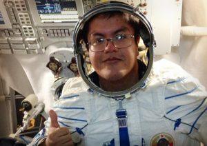 Mexicano participa en base espacial Rusa