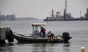 Alcanza su nivel máximo el río Coatzacoalcos: Protección Civil de Veracruz