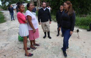 Supervisa DIF Benito Juárez colonias vulnerables, ante contingencia por huracán
