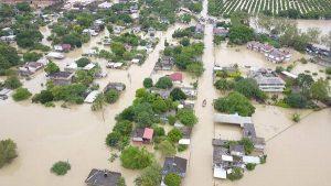 Más de 30 mil personas bajo el agua por desbordamiento de ríos en Álamo Veracruz: PC
