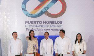 Proyecta Laura Fernández a Puerto Morelos como un municipio vigoroso, dinámico y con orden