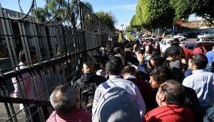 Morena mantiene tomada la sede del Poder Legislativo de Veracruz