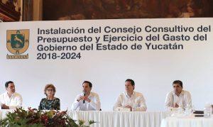 Presenta el gobernador Mauricio Vila histórico consejo ciudadano para asegurar transparencia
