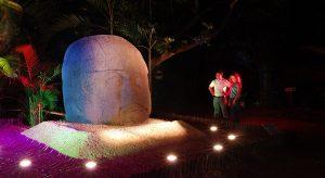 Regresa el espectáculo de luz y sonido al Museo La Venta en Tabasco