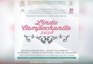 Elección de la Linda Campechanita, el 29 de octubre: DIF