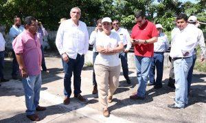 Adán Augusto y Rocio Nahle, recorren área donde se construirá refinería en Paraíso, Tabasco