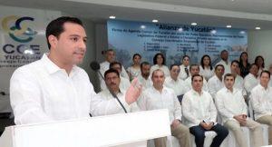 Apoya Mauricio Vila mega apagón en Yucatán