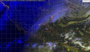 Tormentas torrenciales se pronostican para el norte de Chiapas y el sur de Tabasco