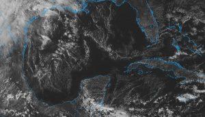 El viernes se pronostica potencial de lluvias y evento de Norte del Frente Frío 8 en la península de Yucatán
