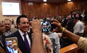 Nuevo Congreso debe cumplir con la ley de austeridad: Cuitláhuac García