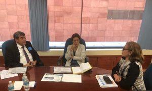 Se reúne rector de la UJAT con Comisiones de Educación y Ciencia del Congreso de la Unión