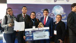 Estudiantes Tabasqueños del Tec La Venta ganan tercer lugar Nacional en ENEIT 2018