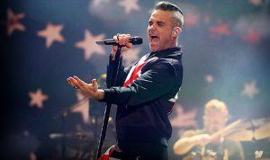Robbie Williams enloquece al público en el Corona Capital