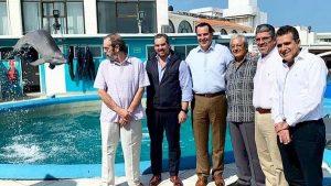 Impulsarán actividades de conservación e investigación del Acuario de Veracruz