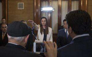 Ana Gabriela Guevara rinde protesta como directora de la CONADE