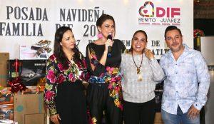 Encabezan Mara Lezama y Gloria Torruco posada navideña