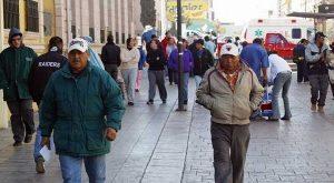 Se registran las más bajas temperaturas de la temporada invernal en Veracruz